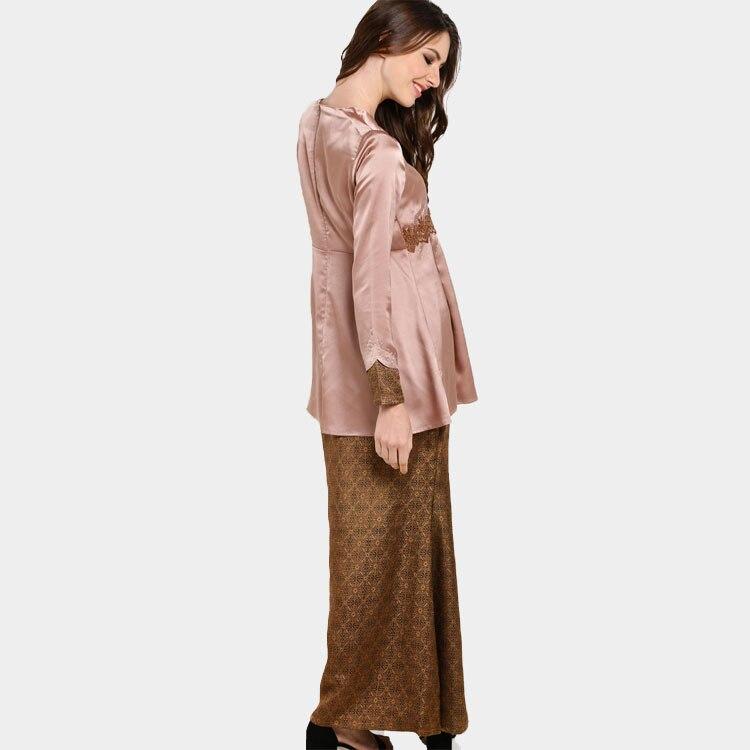 Advanced Customization Wholesale 2018 Middle East Muslim Sets Lace Dress  Islamic Women Clothing Baju Kurung No Stock MOQ 100PCS-in Dresses from  Women s ... 768324bb6d1d