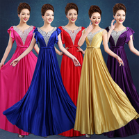 2017 new arrival stock maternity plus size bridal gown pregnant evening dress satin gold pink purple blue red bling sexy LF1611
