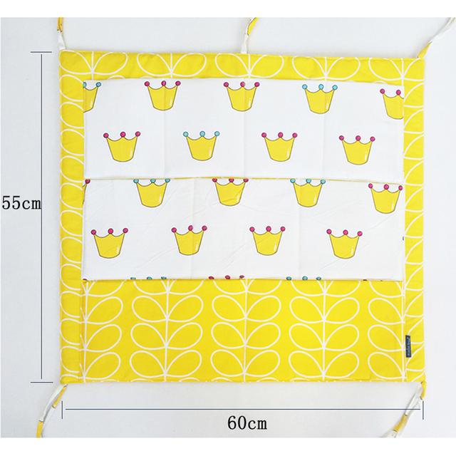Storage Pocket for Baby Crib