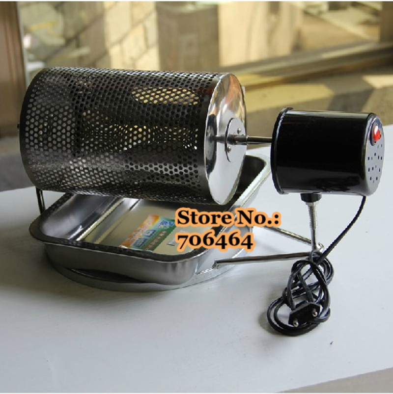 Portabel Coffee Roaster Dengan Thermostat Dan Dengan Desain Lubang