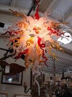 Бесплатная Доставка 120 В/240 В Новый Дизайн Современного Искусства Стекла Китайские Люстры