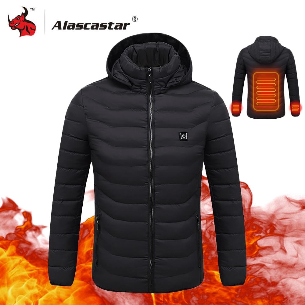 2018 новая мотоциклетная куртка мужская осень зима USB инфракрасное Отопление Куртка Мото куртка термальная мотоциклетная куртка с капюшоном