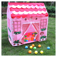 Kids Toys Tents Kids Play Tent Boy Girl Princess Castle Indoor Outdoor Kids House Play Ball Pit Pool Playhouse for Kids