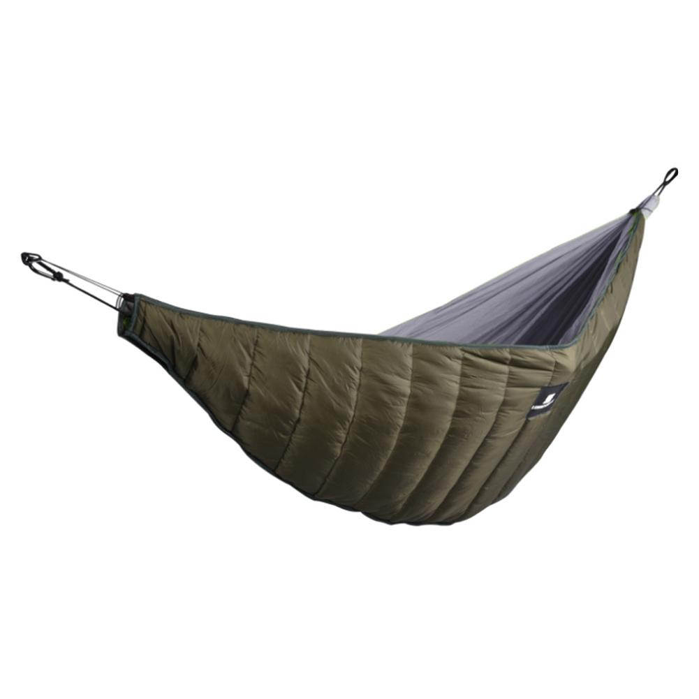 Outdoor Camping Full Length Hammock Underquilt Ultralight Winter Warm Under Quilt Blanket Cotton Hammock
