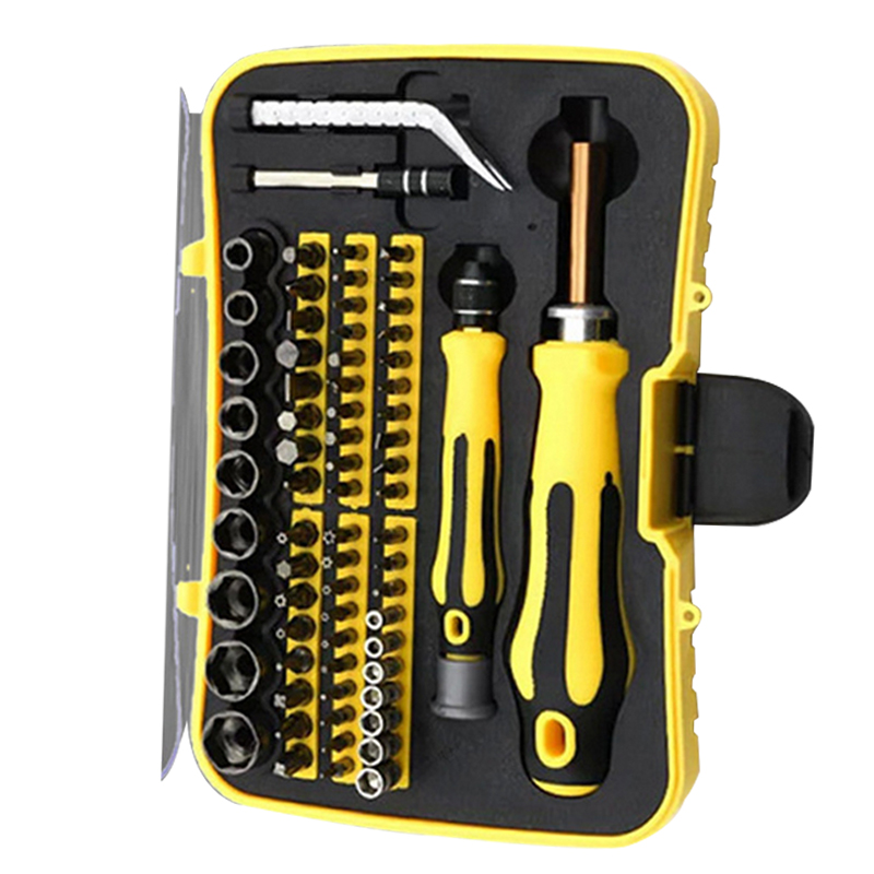 70 In 1 Multi Tools Screwdriver Set Precise Cell Phone PC PSP Repair Kit Slot Phillips Tox Hex Tweezers Magnetizer Hand Tools fm 380 paper laminating machine students card worker card office file laminator steel roll laminating machine