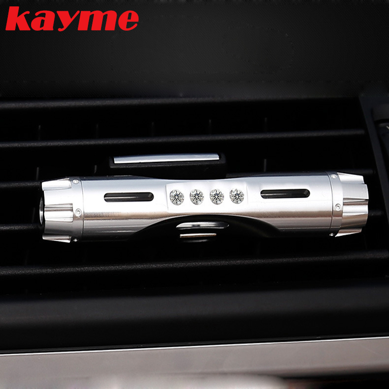 Kayme new product air <font><b>freshener</b></font> perfume car outlet air conditioner purifie auto flavorings car smell aromatizer