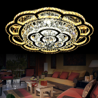 crystal led ceiling lamps modern nomsun living room foyer bedroom lighting deckenleuchten luminaria fittings kristal lights