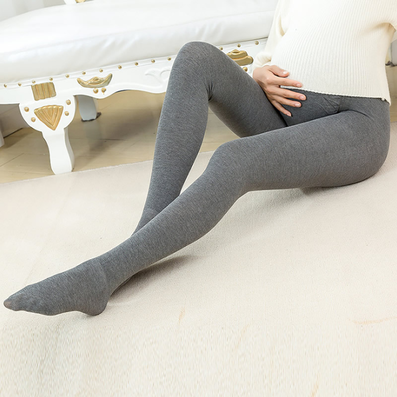 680D Women Pregnant Socks Maternity Hosiery Solid Stockings Tights Pantyhose Spring and autumn pregnant women stockings