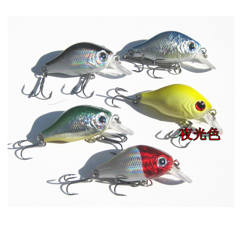 Fishing lure crankbait hard lures lures wobblers day for Glow in the dark fishing lures