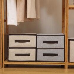 Estilo gaveta caixa de armazenamento roupa interior gaveta organizador grande-capacidade armário organizador dobrável meias de armazenamento em casa caso sutiã
