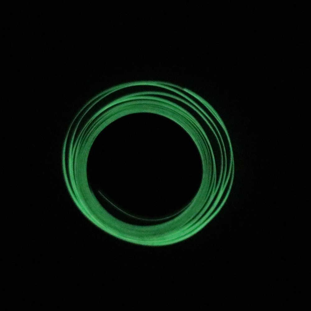 Imperméable à l'eau lumineux Auto réfléchissant bande fluorescente voiture vélo vélo cyclisme moto autocollants bande autocollant bande sécurité
