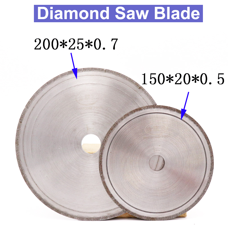URANN 150~500mm 6 Inch~20inch Super-Thin Diamond Saw Blades Lapidary Cutting Disc Saws Jewelry Tools Straight Slice