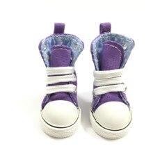 BEIOUFENG парусиновые кроссовки обувь для внутренней текстильной куклы, 1/6 BJD кукольная обувь для кукольной куклы, 5 см кукольные ботинки Спортивная обувь одна пара