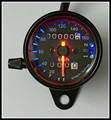 motor LED 12V Universal type motorcycle with the signal light Motorcycle Speedometer