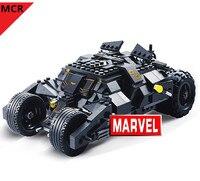 NEW Marvel Super Hero Batman Movie Batmobile Building blocks Mini legoing Model birthday gift Toys for children NO BOX