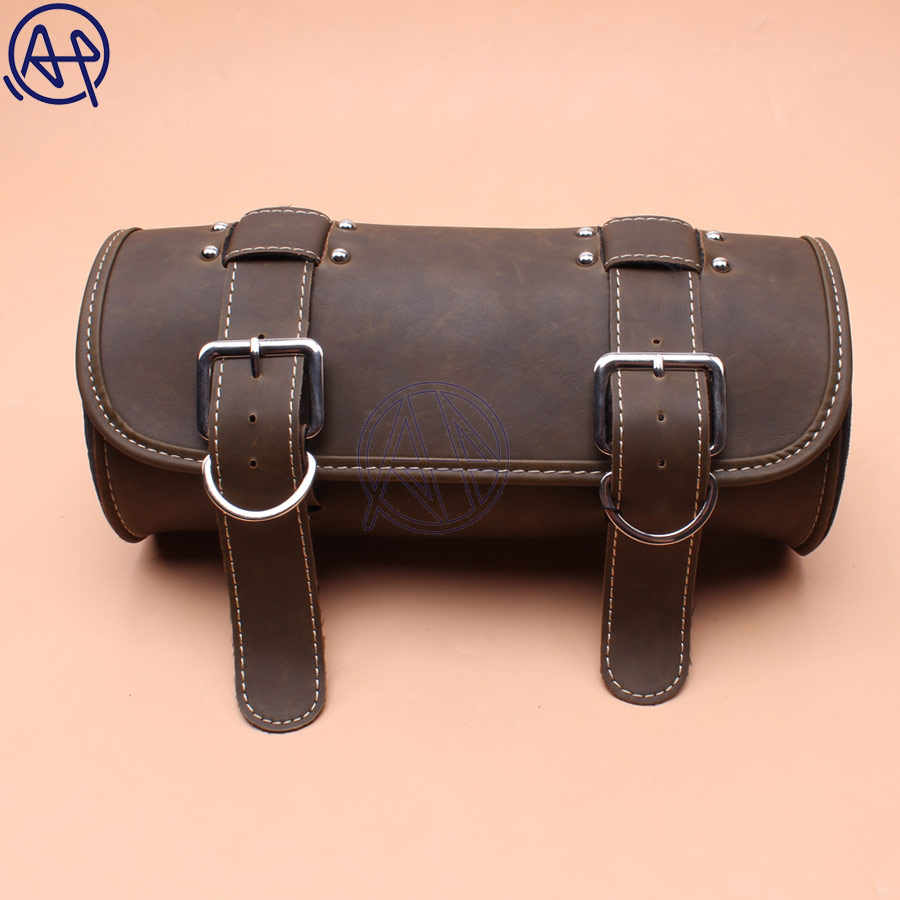 b73a2ceb7f22 Detail Feedback Questions about New PU Front Fork Tool Bag Luggage ...