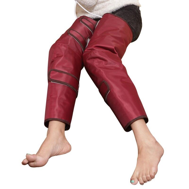 2019 dispositif de massage des jambes ceinture de chauffage électrique stovepipe dispositif jambes minceur beauté jambe pied pad