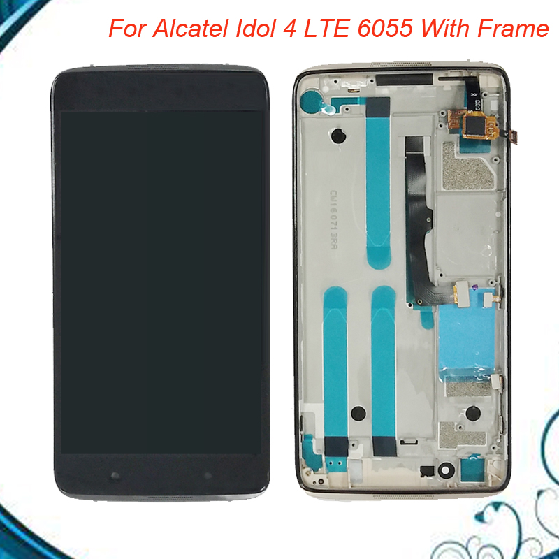 4 Colors 5.2 LCD Display For Alcatel One Touch Idol 4 LTE 6055 6055P 6055Y 6055H LCD Display Touch Screen Digitizer Assembly4 Colors 5.2 LCD Display For Alcatel One Touch Idol 4 LTE 6055 6055P 6055Y 6055H LCD Display Touch Screen Digitizer Assembly
