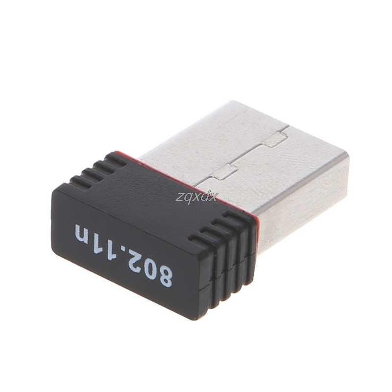 Nuevo Mini 150Mbps USB 2,0 WiFi adaptador inalámbrico 150 red LAN tarjeta 802,11 ngb Ralink MT7601 para Smartphone Win xp/7/8 envío directo