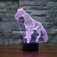 Hot 7 colors changing Home decoration  sleeping lights led 3d lights creative gifts USB LED  Novetly night light