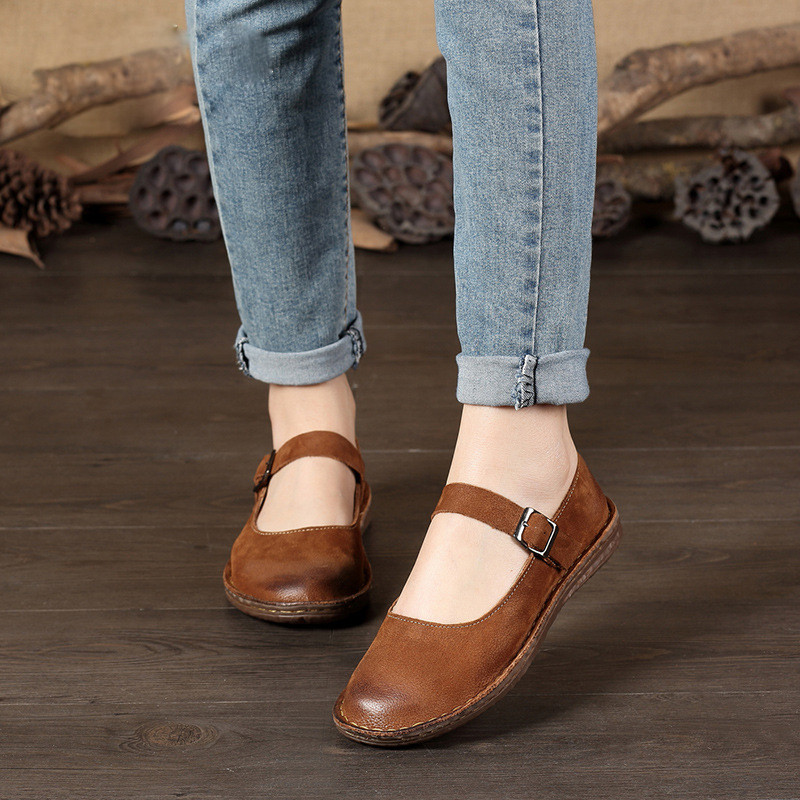Genuine Leather Flat Shoes Pregnant Women Shoe Solid Round Toe Mother Moccasins Driving Women Flats Shoes Plus Size 35-42 цена