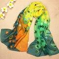2015 Bufandas de La Manera Desigual Impresión de la Tela Escocesa de Invierno Bufanda Larga Descuentos Canadá Chales Para Mujer Bufandas de La Joyería del Regalo Para Los Amigos WJ001