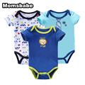 Body Bebes Newborn 3Pcs/lot Short Sleeve Baby Rompers Baby Boy Girl Clothes Roupa Infantil Jumpsuit Next Baby Clothing