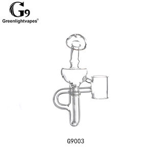 Image 3 - Greenlightvapes G9 Mouthpiece Glass Water Filter Pipe Bubbler Adapter Attachment for 510 Nail / Henail Plus / TC Port