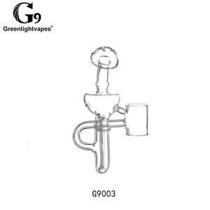 Image 3 - Greenlightvapes G9 bocchino vetro filtro acqua tubo gorgogliatore adattatore adattatore per 510 Nail / Henail Plus / TC Port