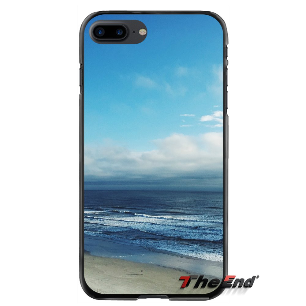 Accessories Phone Shell Covers Sea Ocean Wave For Apple iPhone 4 4S 5 5S 5C SE 6 6S 7 8 Plus X iPod Touch 4 5 6