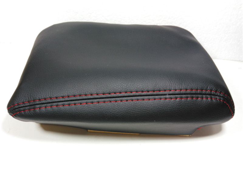 Genuine Leather Protection Pad Armrest Box Cover for Volkswagen Touran PU Beige Grey Black Center Console Armrest Leather Cover black multifunctional cotton car armrests pads cover center console armrest seat box pad for jeep wrangler 2007 2017 up