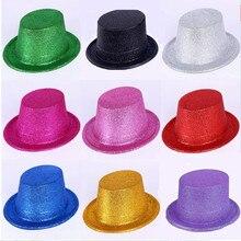 Powder Hat, The Dance Magic Hat Jazz Magician Performances Hat,Mix color