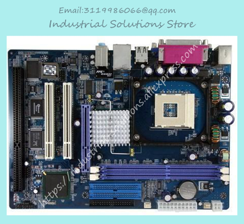 845gv Belt Isa Slots Integrated board Industrial Motherboard Belt Isa 100% tested perfect quality 3 g41 motherboard775 needle cpu ddr2 ddr3 fully integrated 1g board 100% tested perfect quality