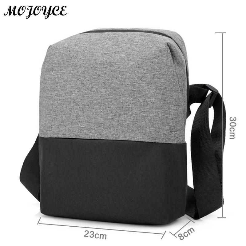 New Men's Crossbody 2018 Fashion Shoulder Bags High Quality Nylon Waterproof Casual Messenger Businessmen Bag Casual Briefcase 6