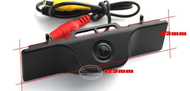 Liislee Автомобильная камера заднего вида для гаражи Моррис MG6 MG 6 Защитные чехлы для сидений, сшитые специально для ROEWE 550/Обратный Камера/NTST PAL/номерной знак света Камера