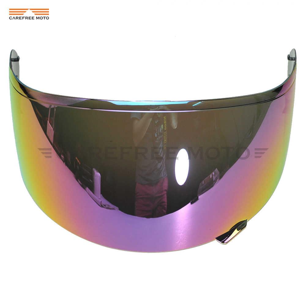 6bdfda95 1 PCS Iridium Motorcycle Helmet Visor Lens Full Face Shield Case for SHOEI  CW1 CW-