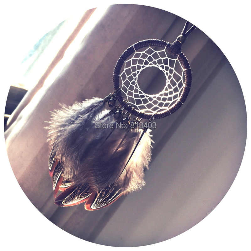 Ny ankomst Small Dream Catcher Car Home Hangings Indian Style Dream Catcher Dekorasjon Nyttår Beste gave Gratis frakt
