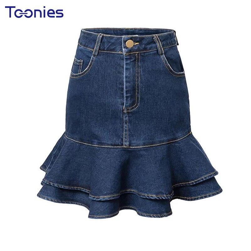 Коллекция джинсовой юбки
