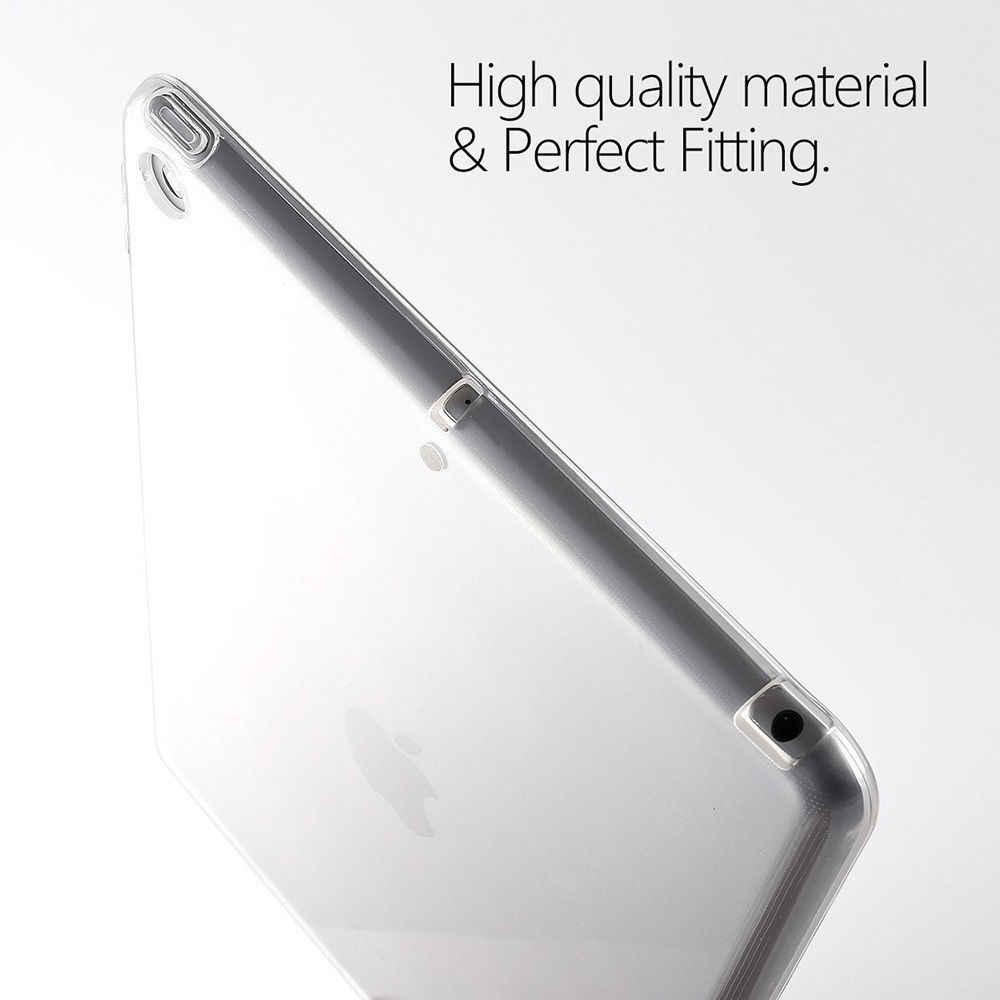 Силиконовый чехол для iPad Pro 11 12,9 2019 9,7 прозрачный чехол мягкий TPU бампер чехол для планшета для iPad 2/3/4 5 6 воздуха мини