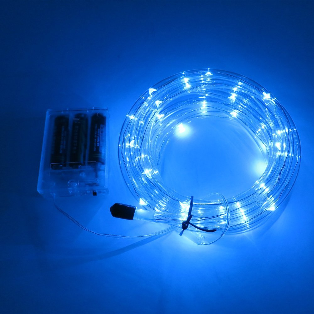 Battery Operated Led Rope Tube String Lights Indoor -8750