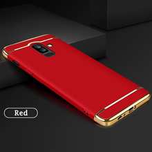 YUETUO origina чехол для телефона, capinha, coque, крышка, чехол для Samsung Galaxy A6 2018 A6 плюс 2018 6 a6plus a600F пластиковые аксессуары