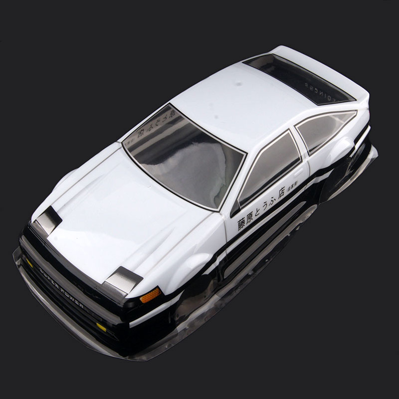 Free shipping RC car 1/10 HSP 94123 94123 94103 94103 94122 car shell flat sports car the first words D AX09