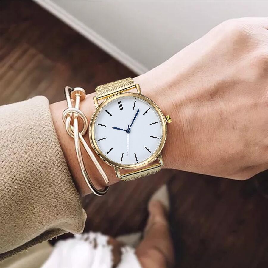 Vansvar-Brand-Women-Silver-Mesh-Watch-Casual-Fashion-Ladies-Luxury-Simple-Dial-Quartz-Wristwatches-Gift-Clock (1)