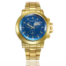 Mens Watches Top Brand Luxury Gold Stainless Steel Quartz Fashion Business Watch Men Wristwatches