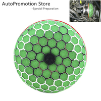 FreeShipment Round Mushroom Universal Car Air Filter Vehicle Induction Kit High Power Mesh Cone Car Air Filter Carros Coche Kosh