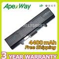Apexway 4400 мАч 11.1 В Аккумулятор Для Ноутбука DELL Inspiron 1525 1526 1545 для Vostro 500 C601H D608 HGW240 HP297 RN873 X284G XR693
