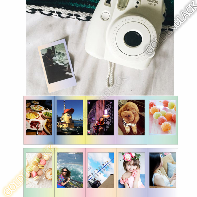 Original Fujifilm Fuji Instax Mini 8 MACAROON Film 10 Sheets For 8 50s 7s 90 25 Share SP-1 Instant Cameras New arrive