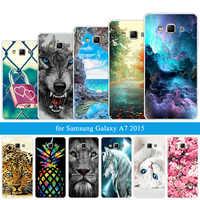 Shell Transparente macio Capas Para Galaxy A3 A7 2015 2016 2017 Lobo Parágrafo Capa de Silicone Para Galaxy A10 A30 a50 M10 Caso de Telefone
