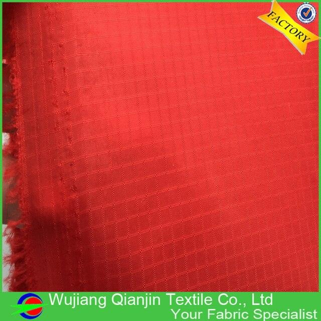 Tissu en Nylon pour cerf-volant | Haute qualité 100% couleur rouge Nylon Ripstop