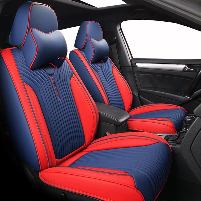 De alta calidad de la cubierta de asiento de cuero de coche para KIA Rio Cerato Sorento Forte K2 K3 K5 ceed coche protector de coche cojín Auto Interior